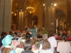 Cath�drale, La Messe du 19-06 anim�e par le choeur Esperance